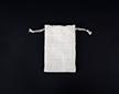 Мешочек из сизалевой ткани 10×15 см — пустой