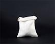 Мешочек из сизалевой ткани 15×20 см — наполненный