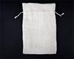 Мешочек из сизалевой ткани 20×30 см — пустой