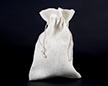 Мешочек из сизалевой ткани 20×30 см — наполненный