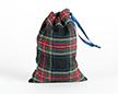 Мешочки из шотландки 15×20 см, дизайн №2, завязка-лента