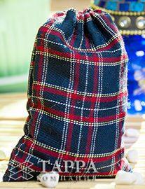 Мешочек из шотландки 20×30 см, дизайн №2