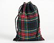 Мешочки из шотландки 20×30 см, дизайн №3, завязки-шнуры
