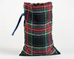 Мешочки из шотландки 20×30 см, дизайн №1, завязка-лента