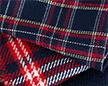 Сравнение шерстяной и синтетичесой шотландки