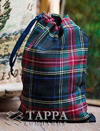 Мешочек из шотландки 15×20 см, дизайн №2